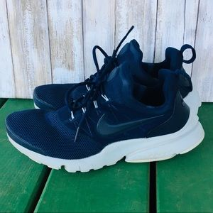 Nike Presto Fly GS Big Kids 7Y Navy Athletic Shoes